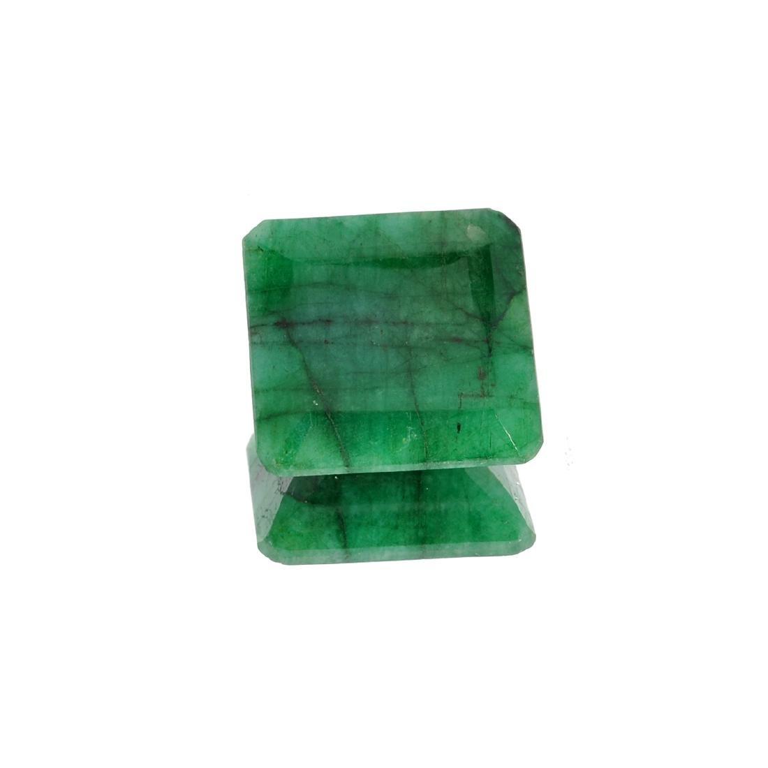APP: 3.7k 49.75CT Square Cut Green Emerald Gemstone