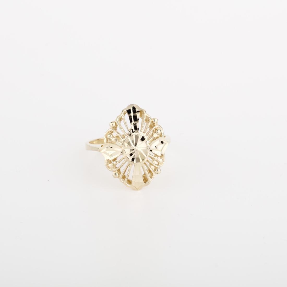 *Fine Jewelry 14KT Gold, Ladies Ring (FJ F260)