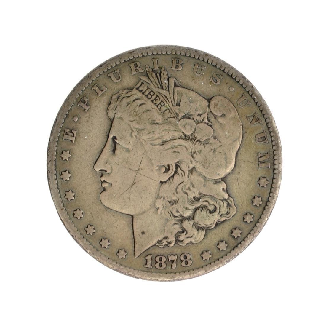 1878-CC Morgan Silver Dollar Coin