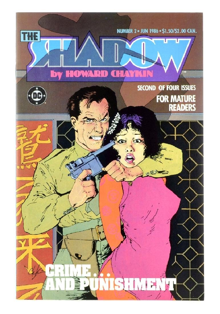 Shadow (1986 DC Limited Series) Issue 2