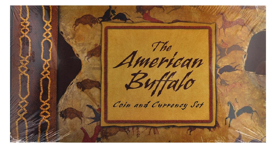 2001 U.S. Mint American Buffalo Coin And Currency Set