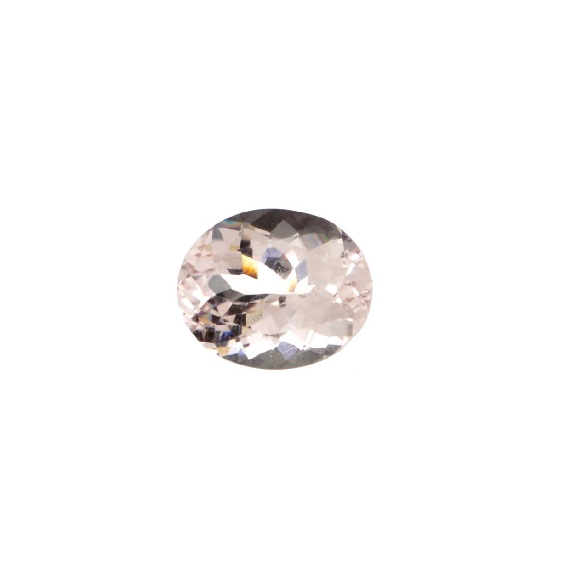High End Rare 3.30CT Morganite Stone