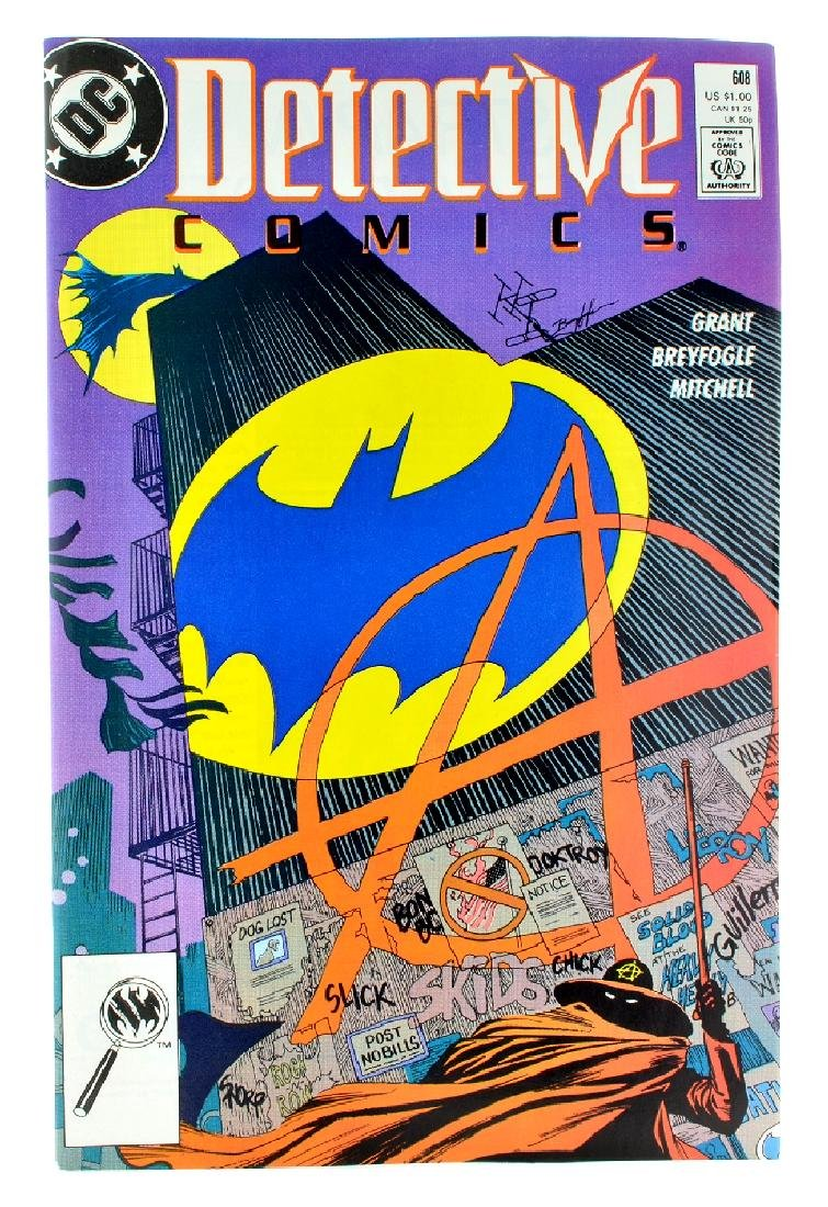 Detective Comics (1937 1st Series) Issue 608