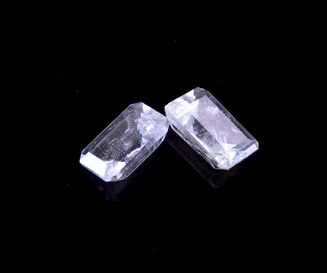 APP: 1.6k 3.98CT Rectangular Step Cut Natural