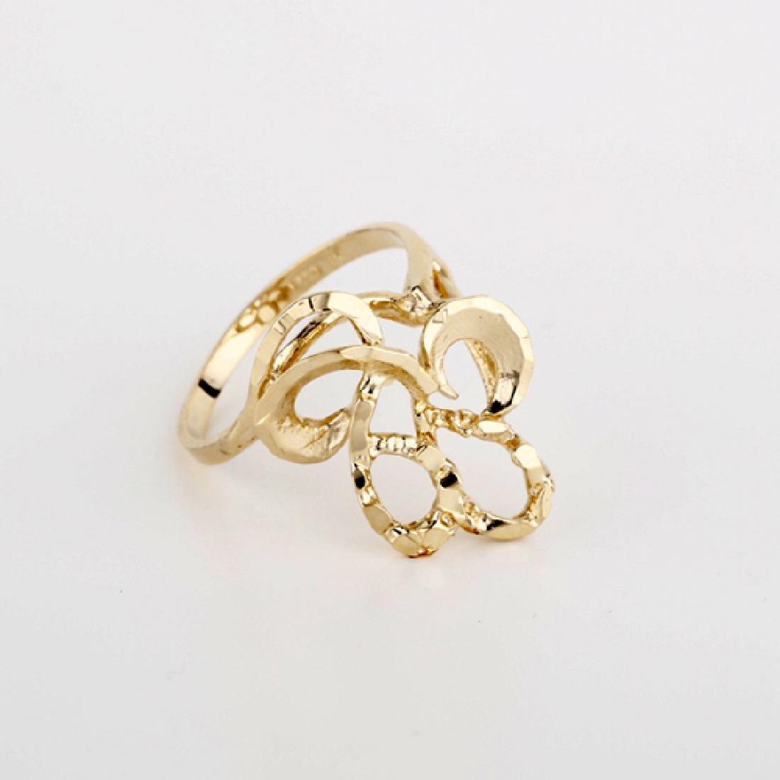 *Fine Jewelry 14KT Gold, Ladies Ring (FJ F259)