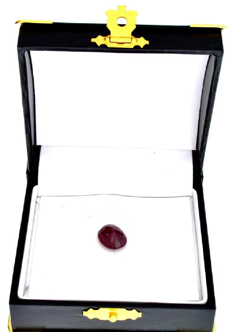 APP: 1.7k 6.58CT Oval Cut Ruby Gemstone - 2