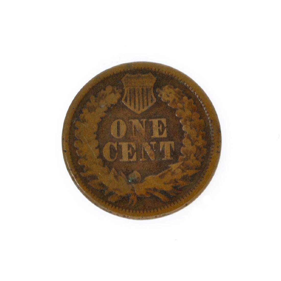 1877 Lincoln One Cent Key Date Coin - 2