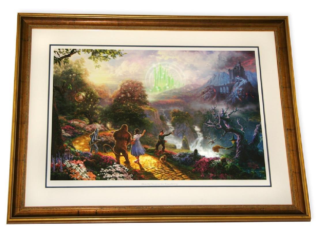 Rare Thomas Kinkade Original Ltd Edt Lithograph Plate