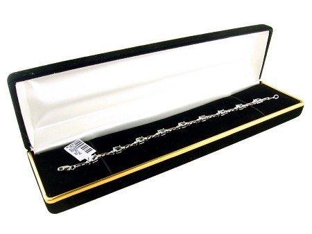 5007: 3.96CT Aquamarine and .01CT Diamond Bracelet, INV