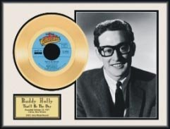 5019: BUDDY HOLLY ''That's Be The Day'' Gold LP