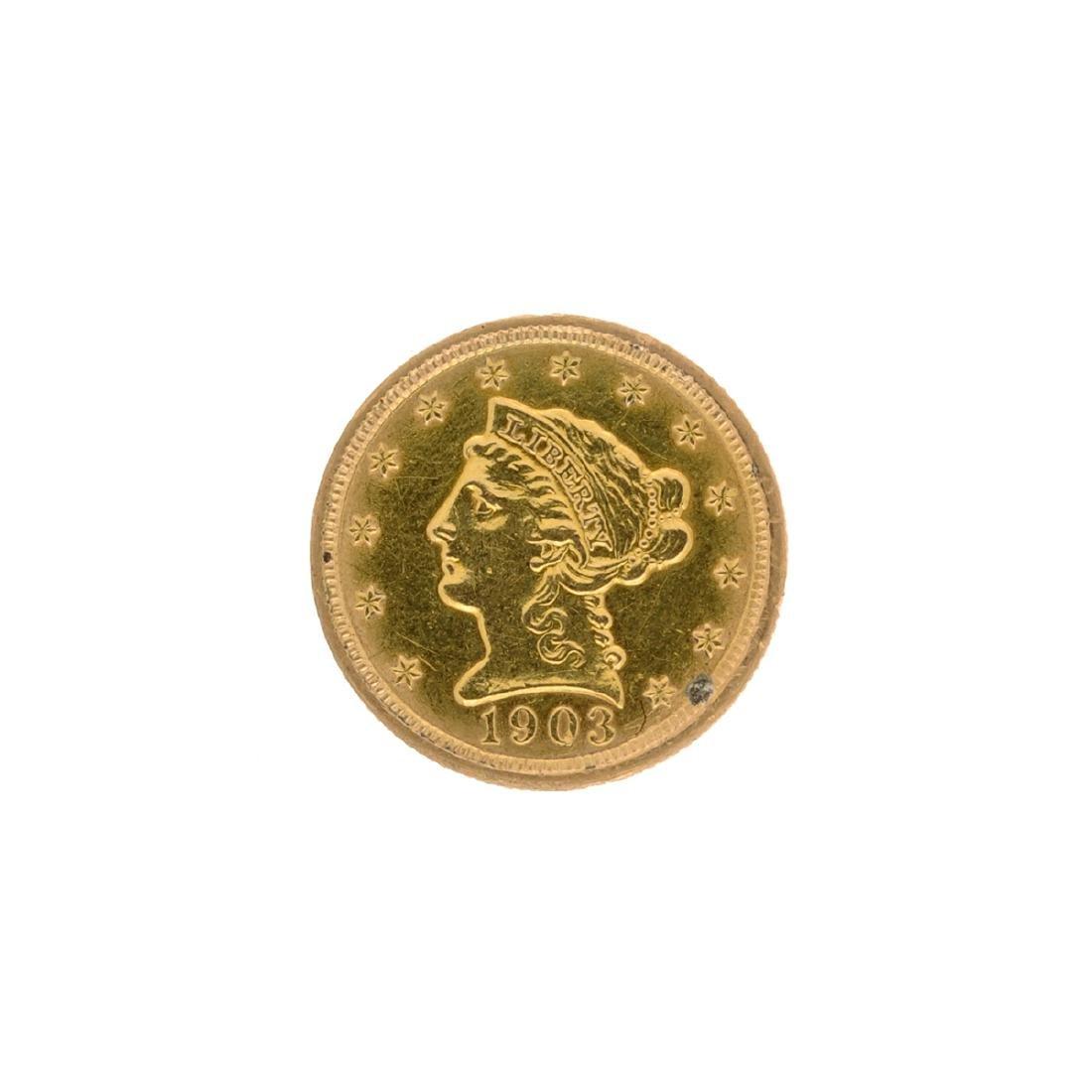 1903 $2.50 U.S. Liberty Head Gold Coin