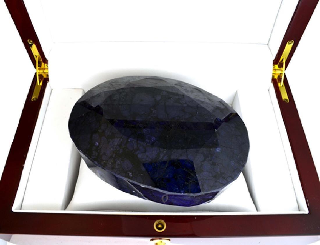APP: 24.4k 4488.55CT Oval Cut Blue Sapphire Gemstone