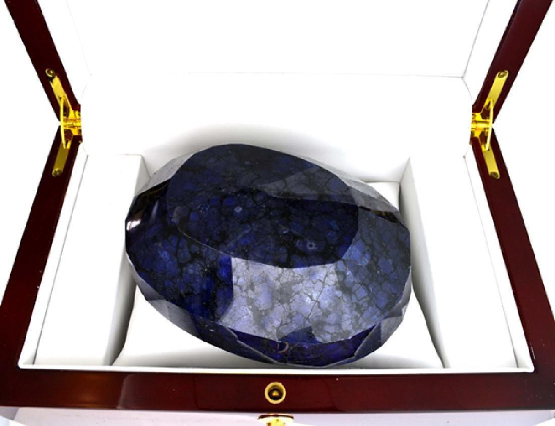 APP: 24.4k 4488.55CT Oval Cut Blue Sapphire Gemstone - 2