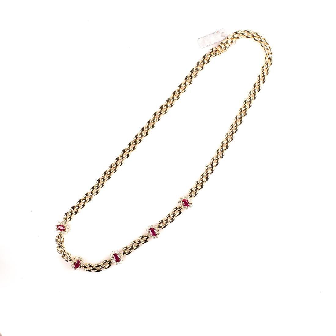 *Fine Jewelry 14 kt. Gold, New Custom Made, 1.20CT
