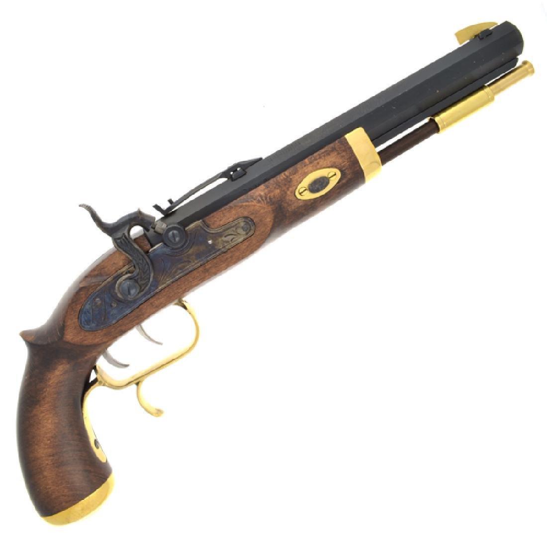 .50 Cal Blued Barrel Trapper Pistol (No Gun Sales To: