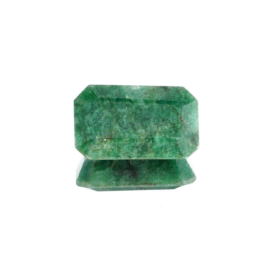 APP: 3.9k 52.48CT Rectangular Cut Green Emerald
