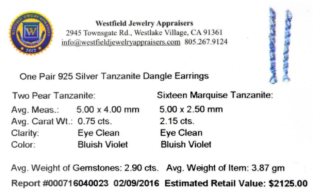 APP: 2.1k Fine Jewelry 0.75CT Pear Cut Tanzanie And - 2
