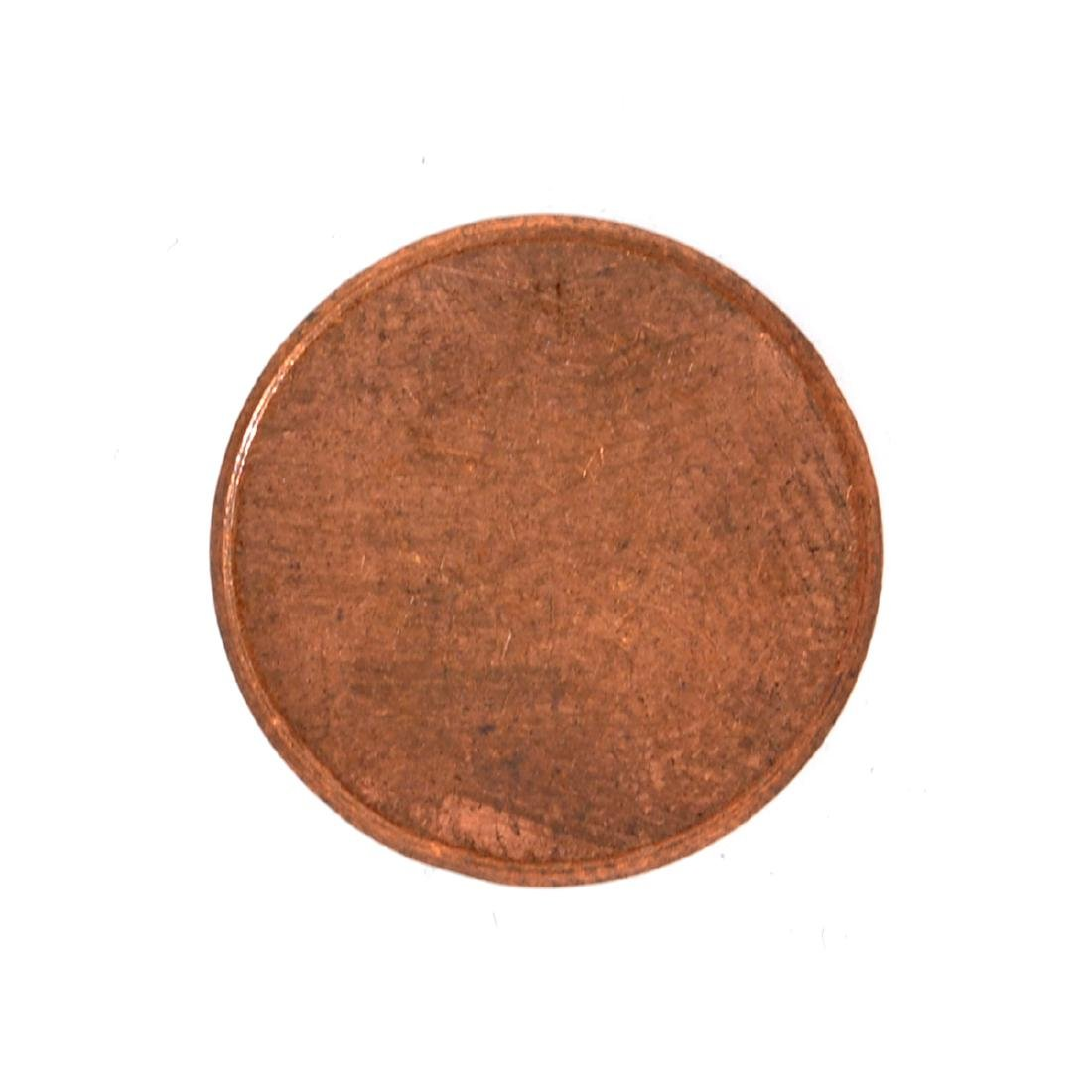 Mint U.S. 1 Cent Blank Planchet Coin