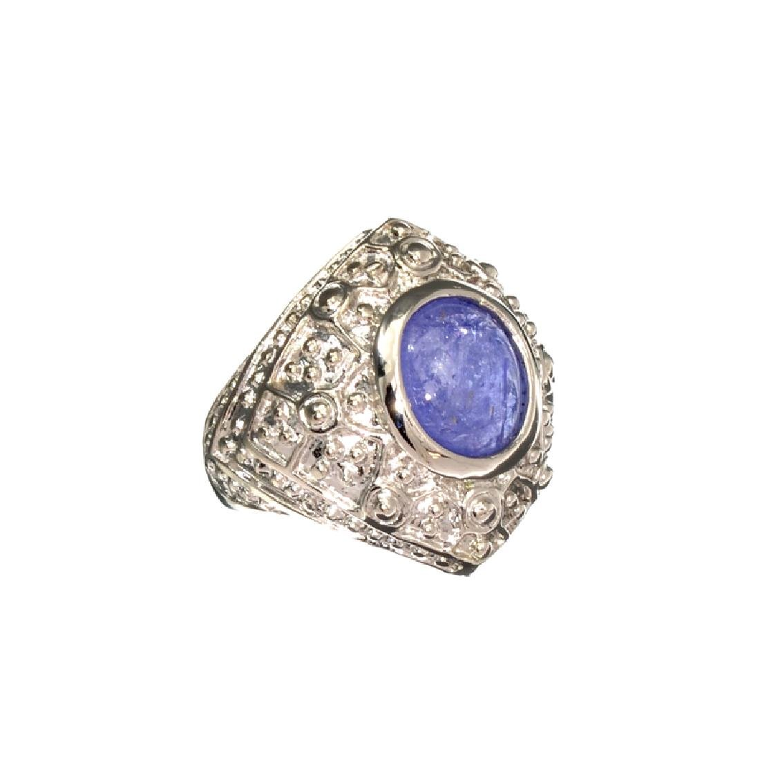 APP: 1.2k Fine Jewelry 4.31CT Oval Cut Tanzanite And