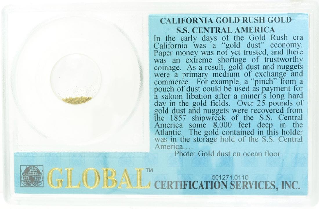 49'er Global California Gold S.S. Central America Coin - 2