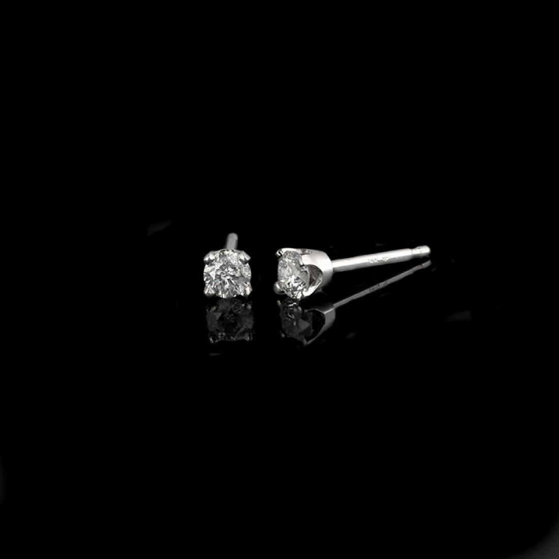 *Fine Jewelry 14 kt. White Gold, Custom Made 0.25CT