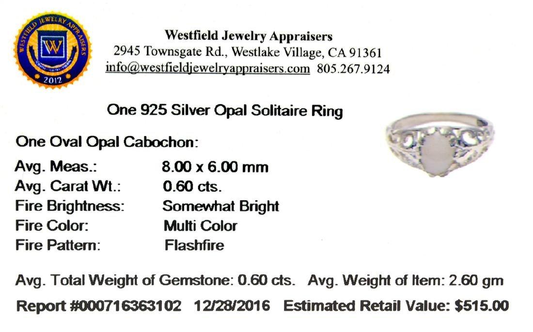 APP: 0.5k Fine Jewelry 0.60CT Oval Cut Cabochon Opal - 2