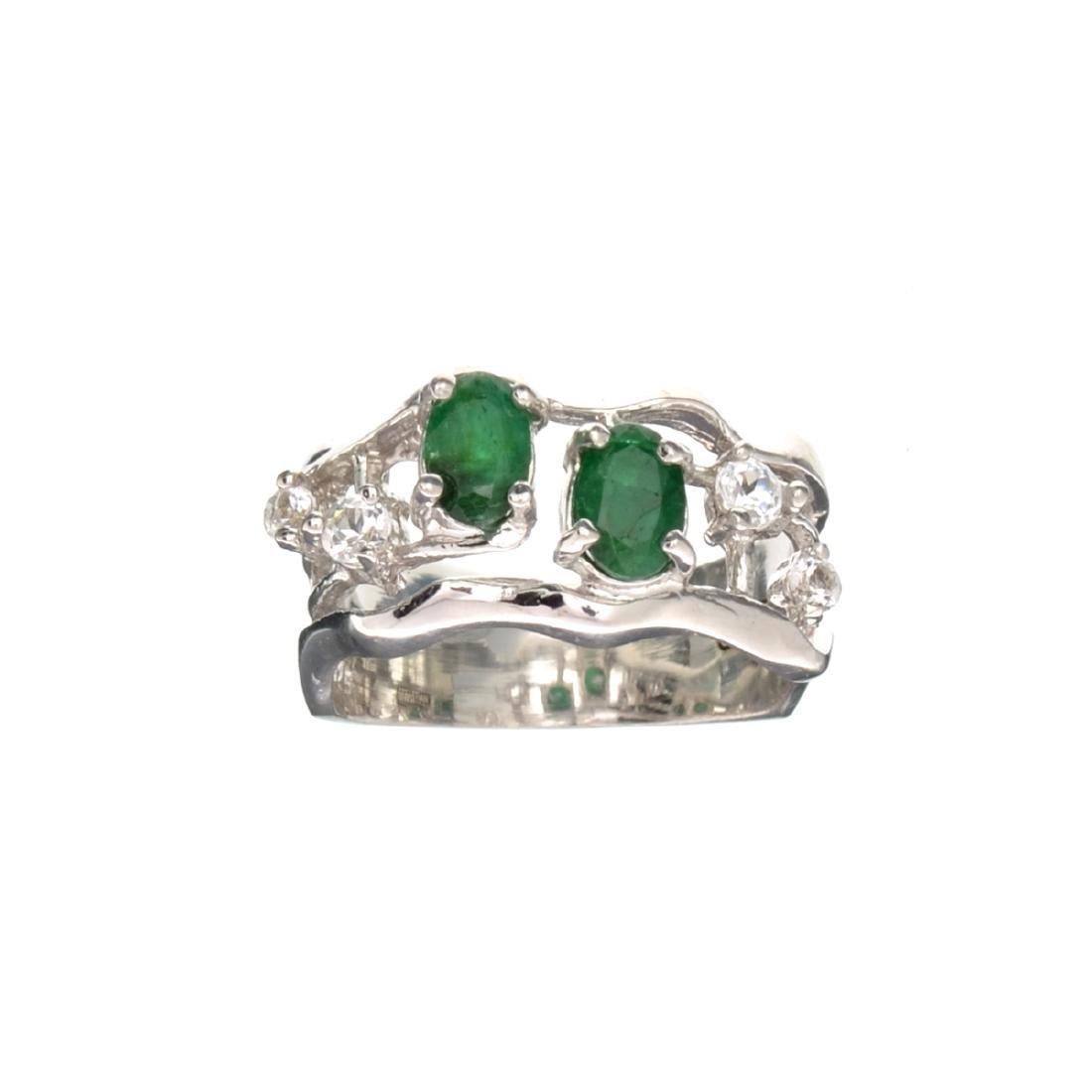 APP: 0.9k Fine Jewelry Designer Sebastian 1.20CT Green
