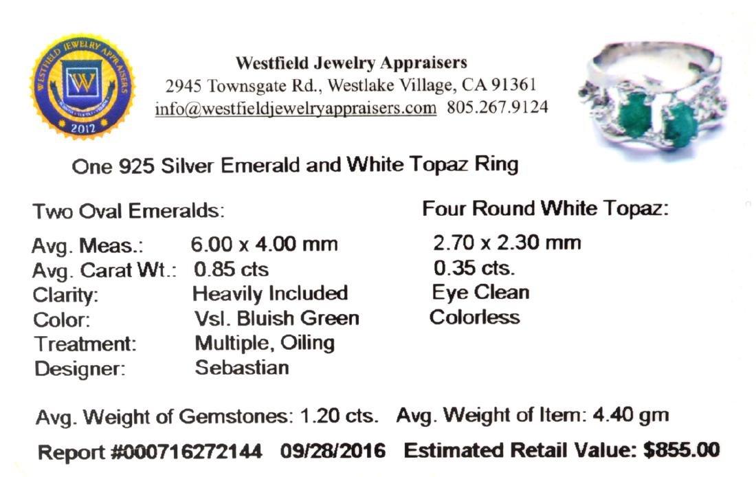 APP: 0.9k Fine Jewelry Designer Sebastian 1.20CT Green - 2