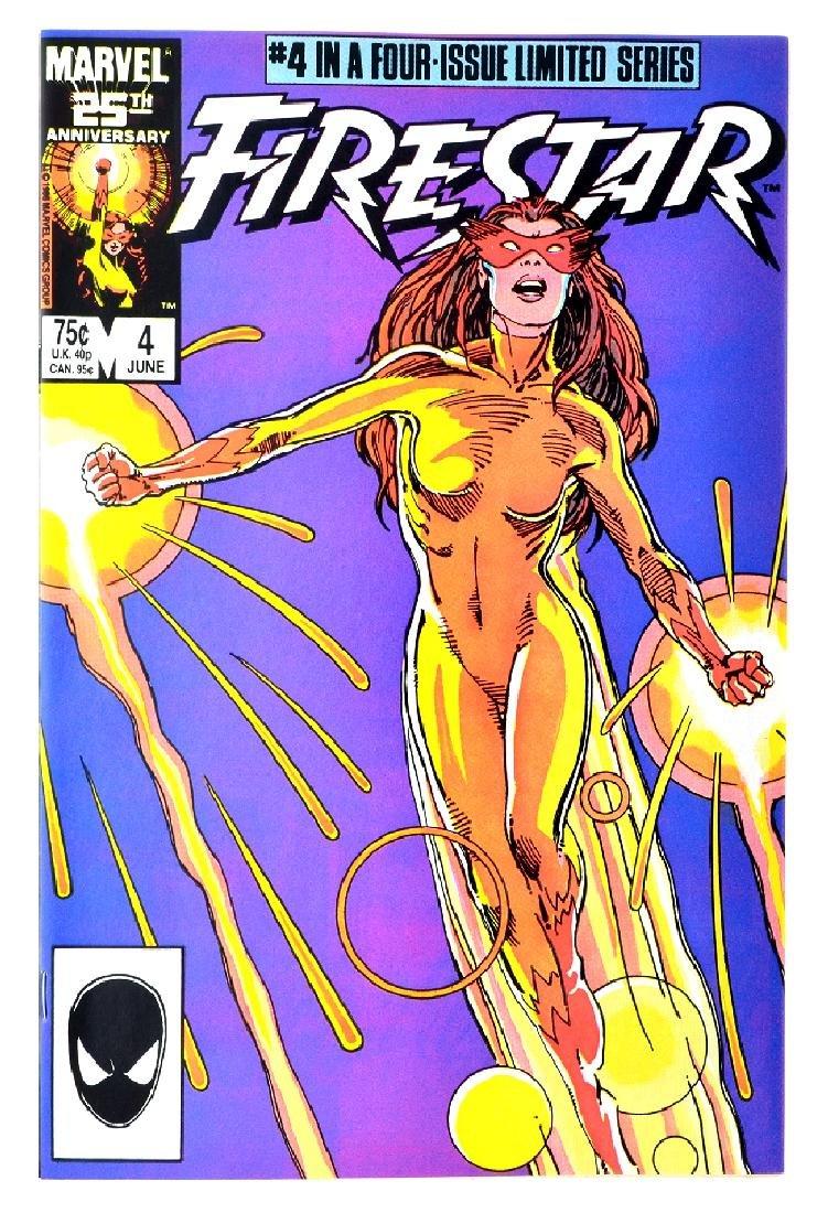 Firestar (1986) Issue 4