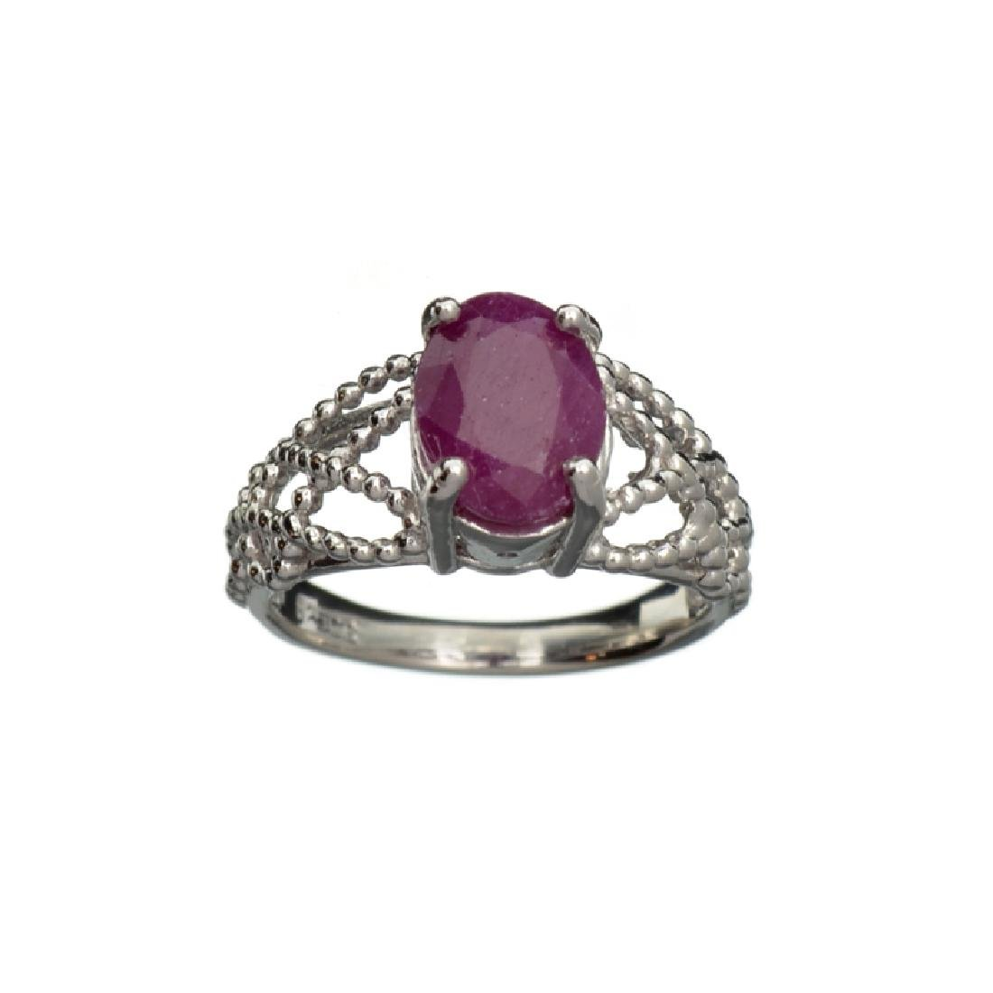 APP: 0.6k Fine Jewelry 2.50CT Oval Cut Ruby And