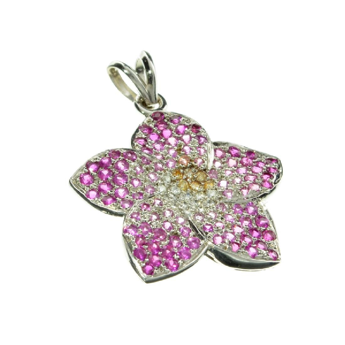 APP: 3.5k Fine Jewelry 14 kt. White Gold, 1.00CT Pink