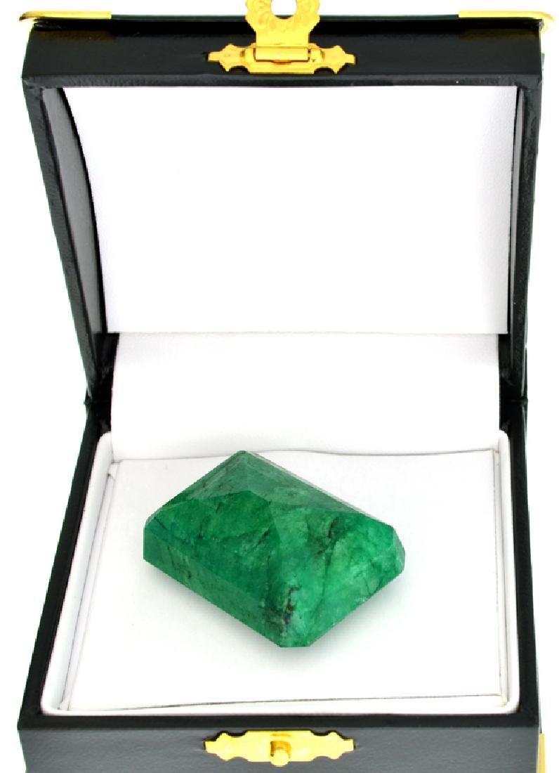 APP: 7.4k 109.95CT Emerald Cut Emerald Gemstone - 2