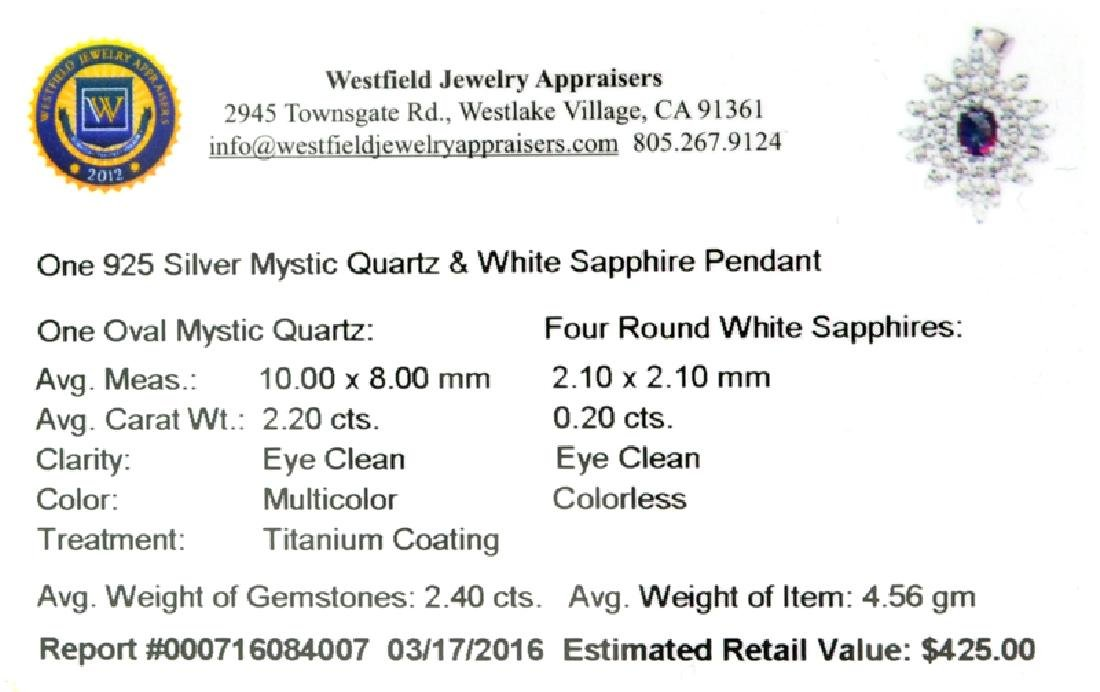 APP: 0.4k Fine Jewelry 2.40CT Multicolor Mystic Quartz - 2