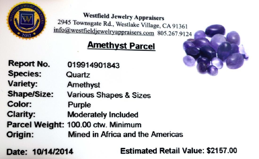APP: 2.2k 100.00CT Various Shapes & Sizes Amethyst - 2