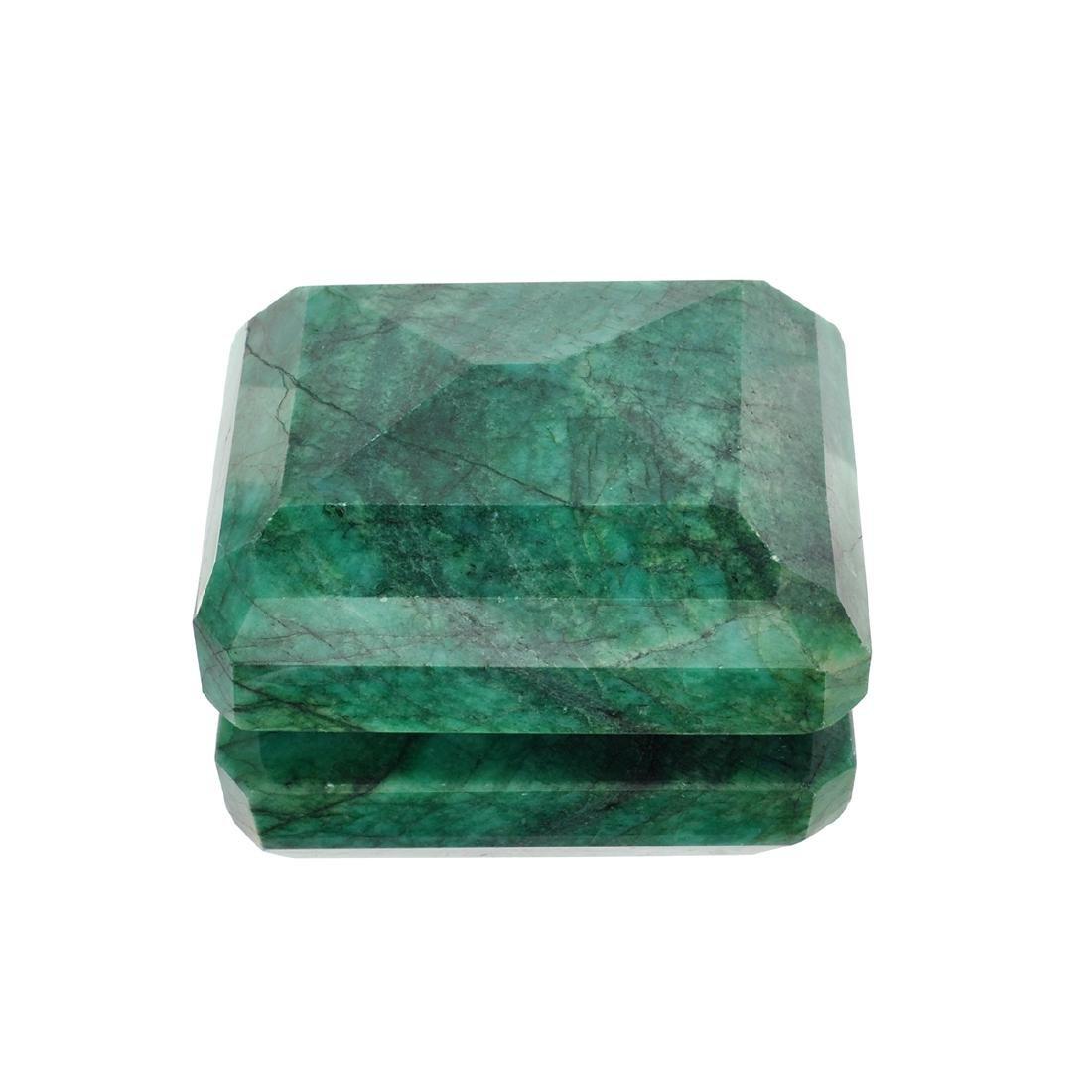 APP: 2.7k 1,089.60CT Rectangular Step Cut Green Beryl - 2