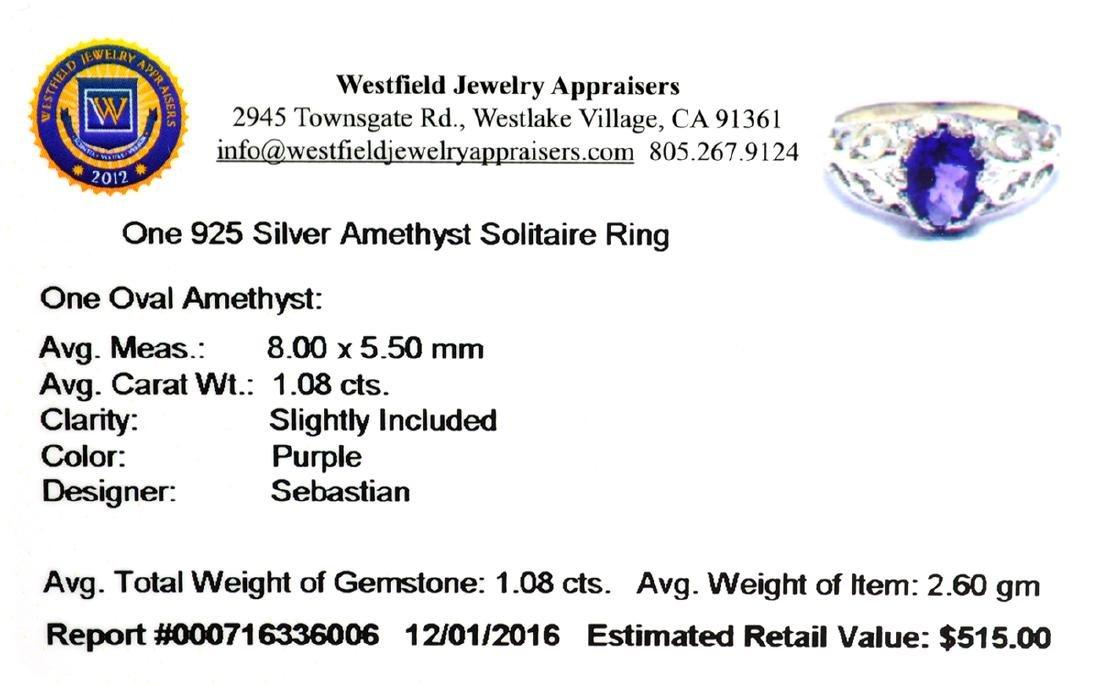APP: 0.5k Fine Jewelry Designer Sebastian, 1.08CT Oval - 2