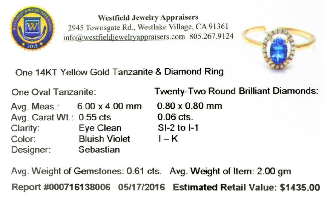 APP: 1.4k Fine Jewelry Designer Sebastian 14KT Gold, - 2