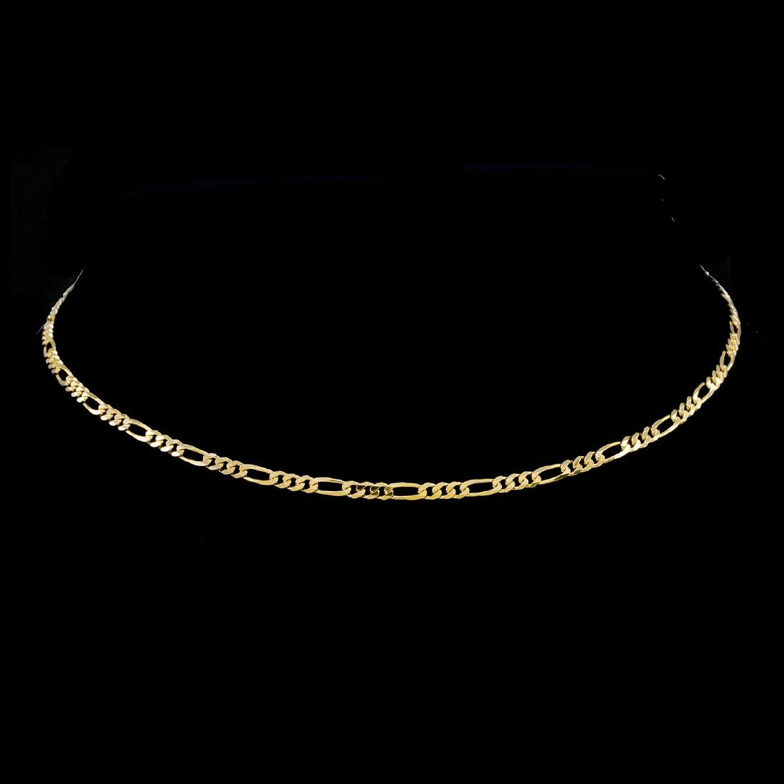 *Fine Jewelry 14KT Gold, 6.5GM. 16'' Chain Necklace (GL