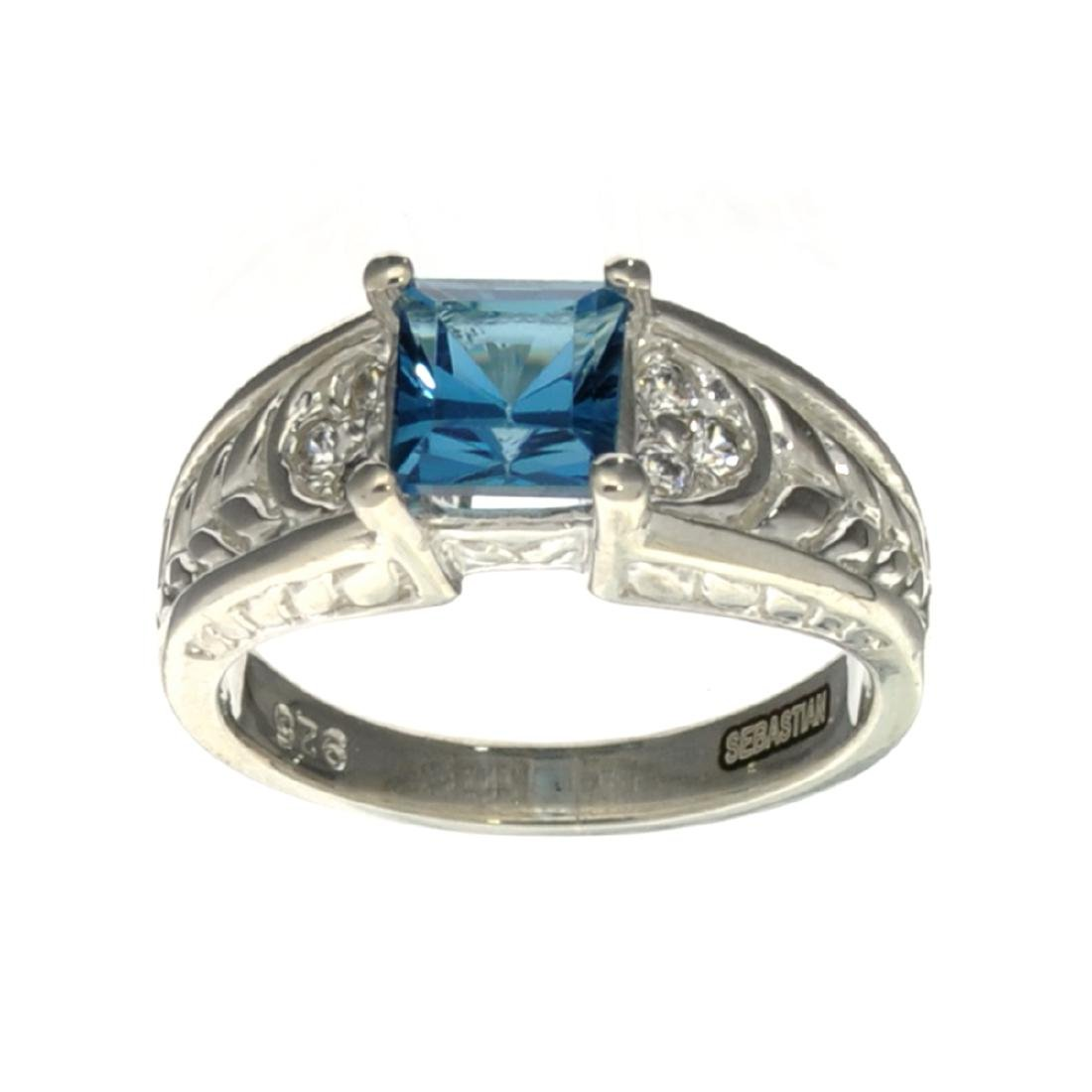 APP: 0.5k Fine Jewelry Designer Sebastian, 1.90CT Blue
