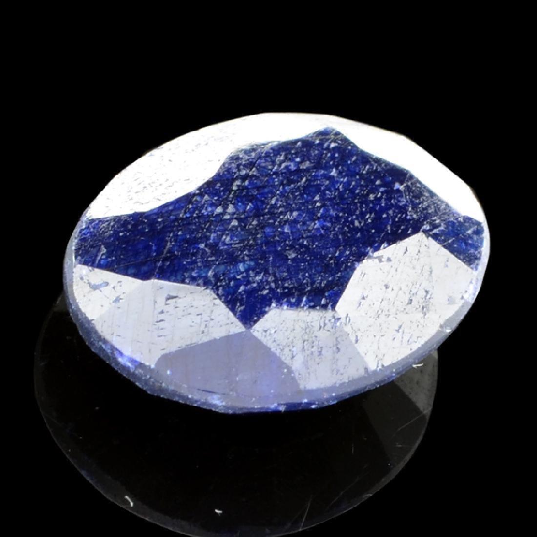 APP: 1.5k 32.14CT Oval Cut Blue Sapphire Gemstone