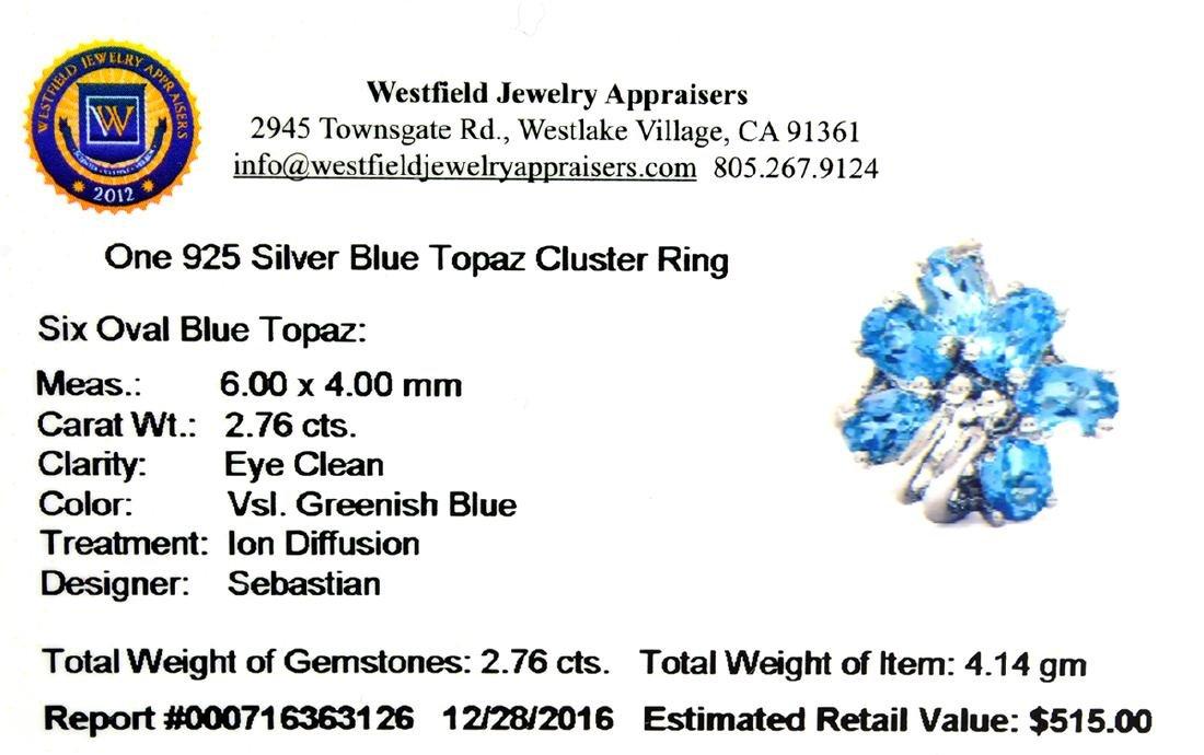 APP: 0.5k Fine Jewelry Designer Sebastian, 2.76CT Oval - 2