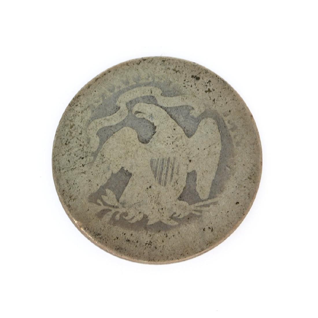Rare 1875 Liberty Seated Quarter Dollar Coin - 2
