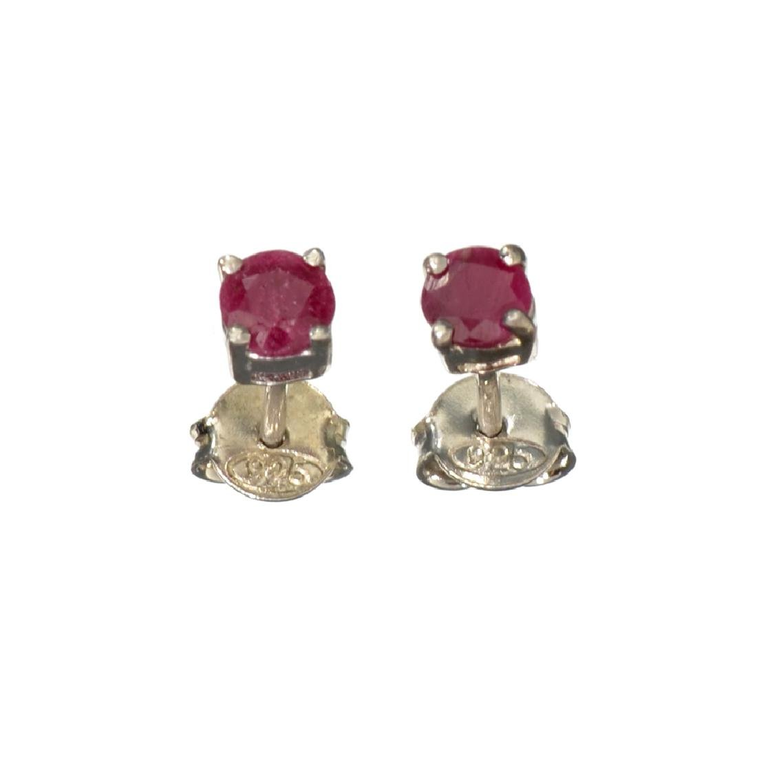 APP: 0.2k Fine Jewelry 0.70CT Round Cut Ruby And