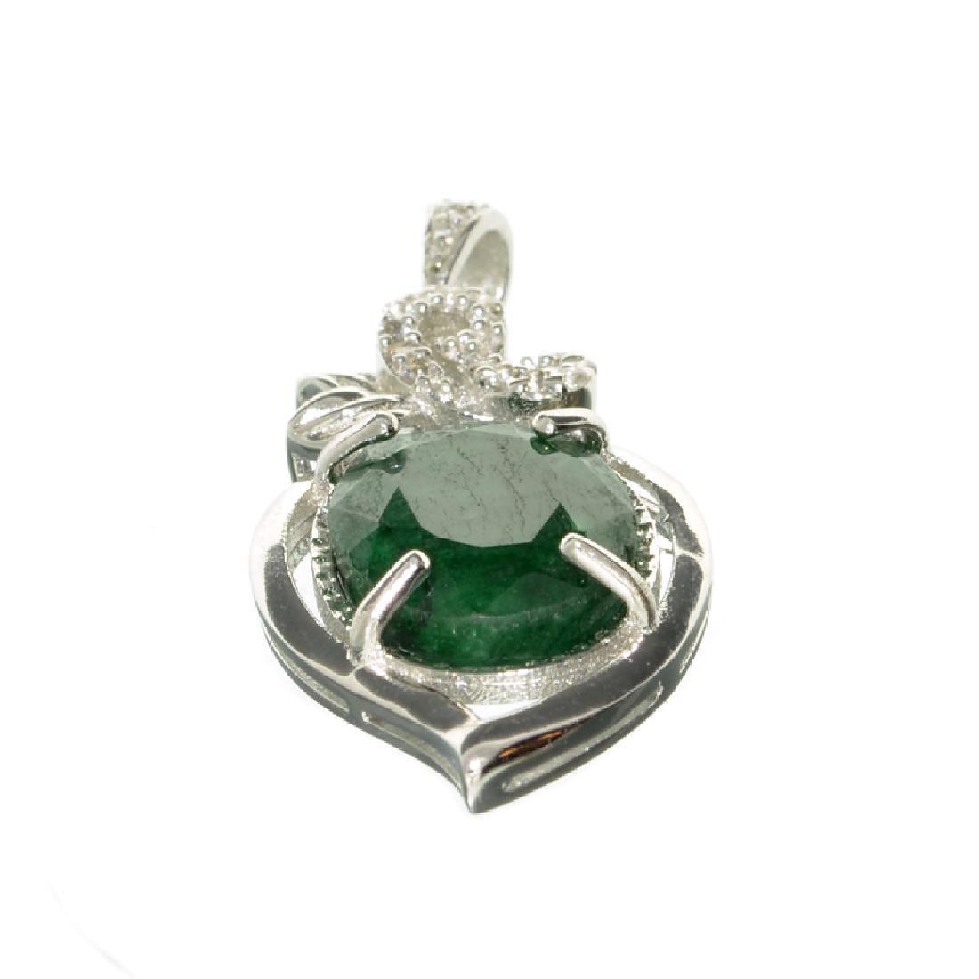 APP: 0.6k Fine Jewelry 8.00CT Oval Cut Green