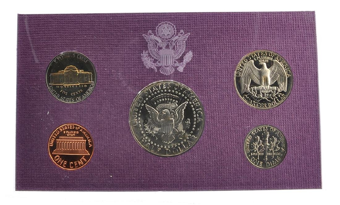 1991 United States Mint Proof Coin Set - 2