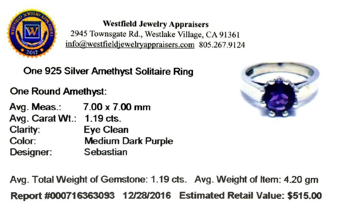 APP: 0.5k Fine Jewelry Designer Sebastian, 1.19CT Round - 2