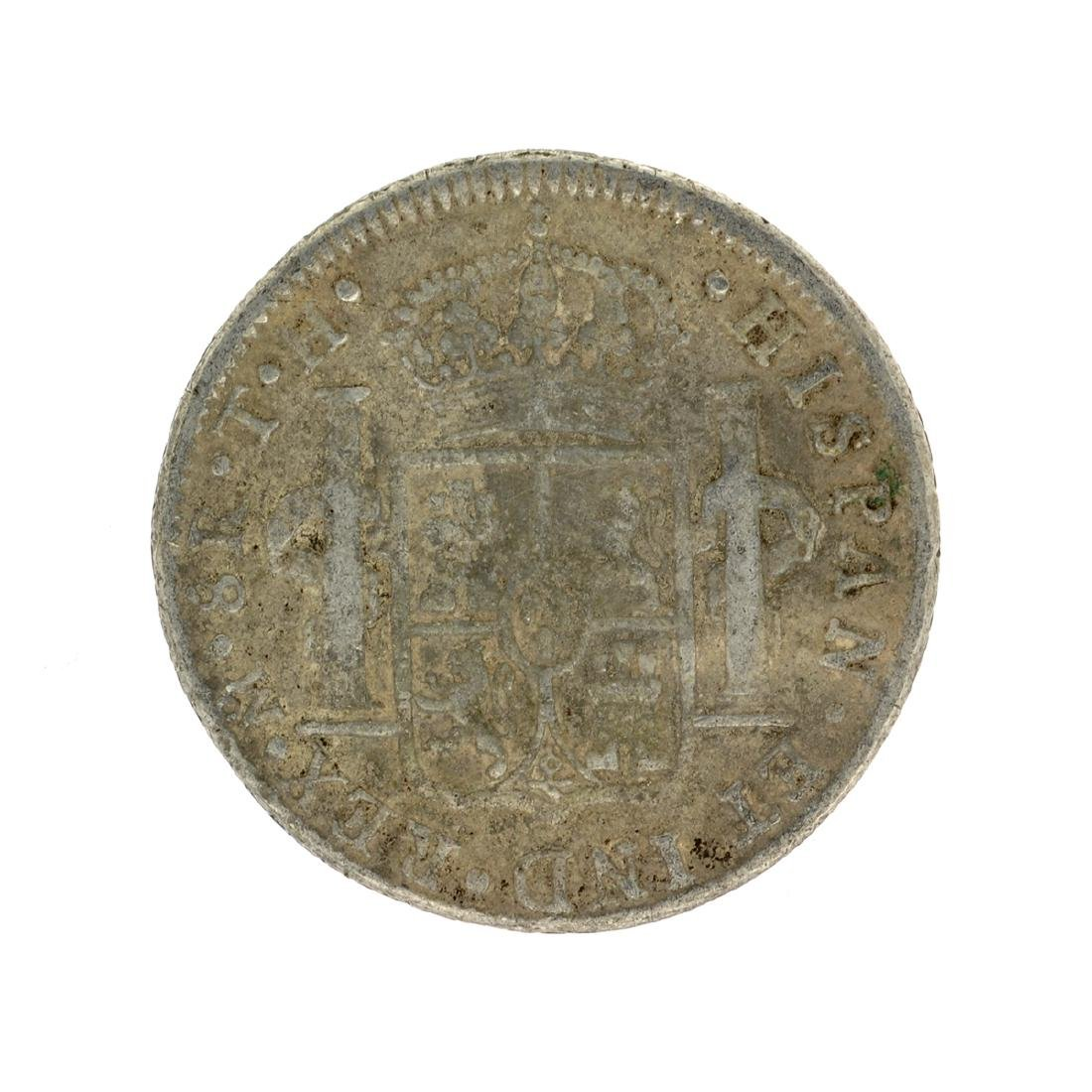 1807 Extremely Rare Eight Reales American First Silver - 2