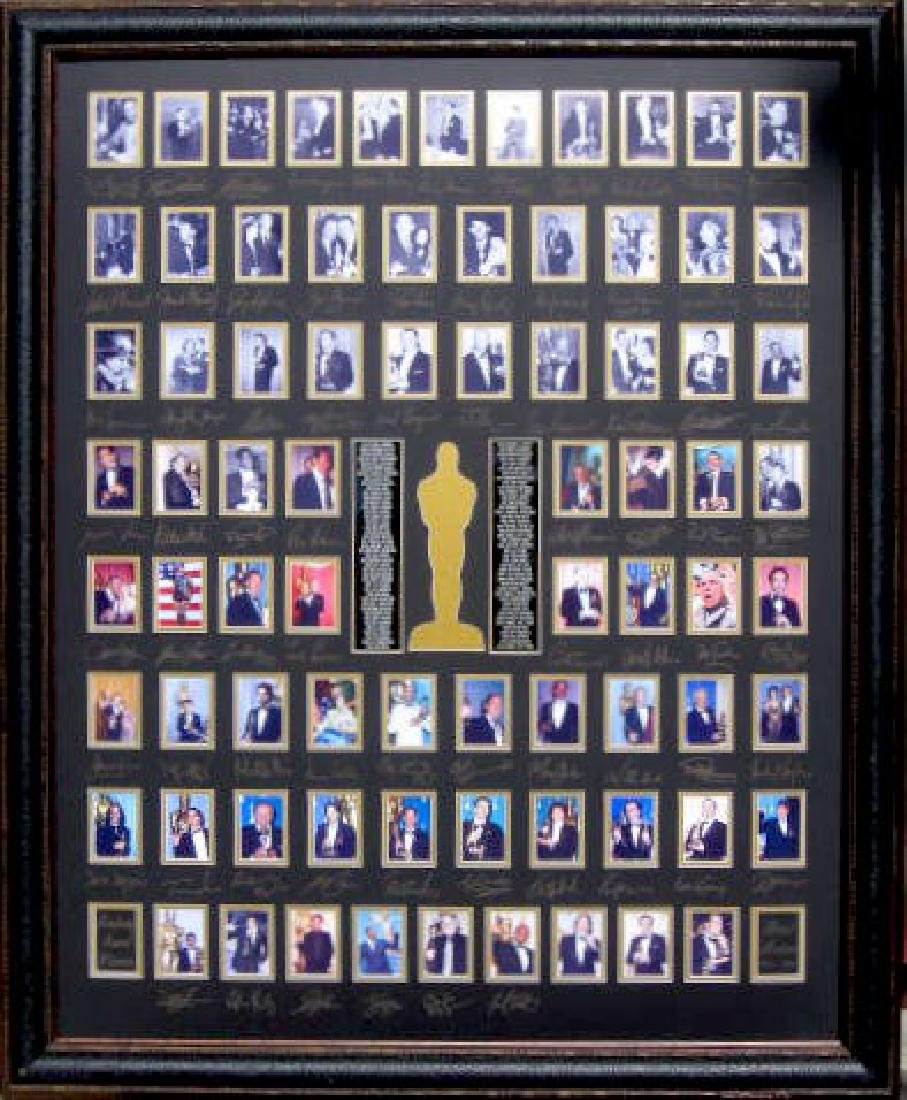 Best Actor Academy Award Winners - Engraved Signatures