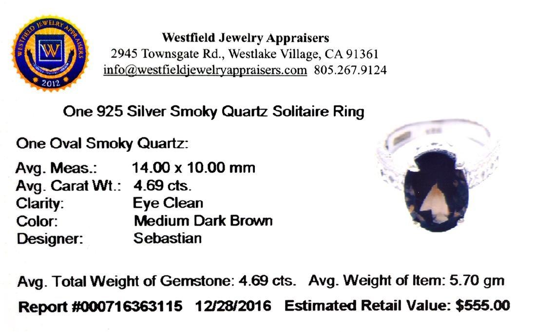 APP: 0.6k Fine Jewelry Designer Sebastian, 4.69CT Oval - 2