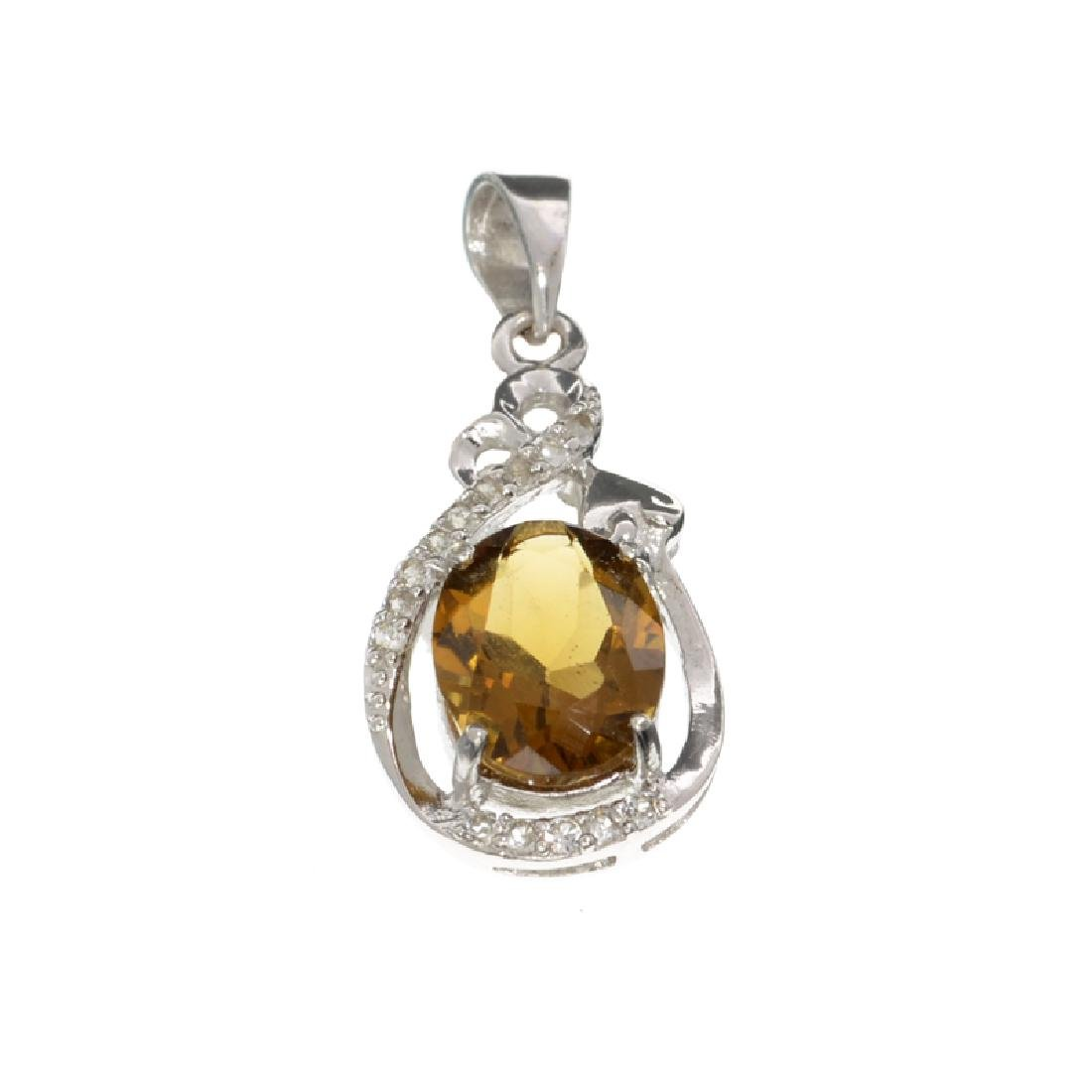 APP: 0.4k Fine Jewelry 2.50CT Citrine And White